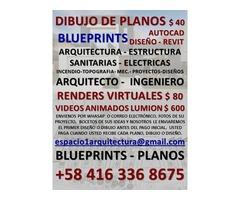 PLANS $ 40.-BluePrints – DRAWING.-.-.- Dibujo de Planos en Autocad. | free-classifieds-usa.com