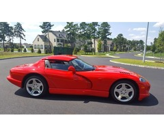 2002 Dodge Viper RT-10 Convertible 2-Door