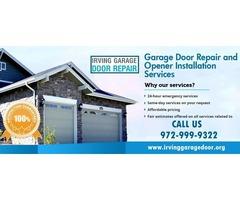 Local 1 hrs Garage Door Opener Repair Services in 75039, TX - $25.95