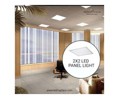 Switch to 2x2 LED Panel Lights to make Interiors Noticed
