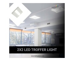 Illuminate Your Surrounding with 2x2 LED Troffer Light