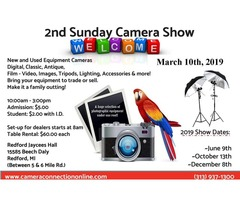 2nd Sunday Camera Show