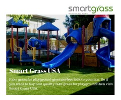Buy best quality artificial grass for Playground in Manhattan beach