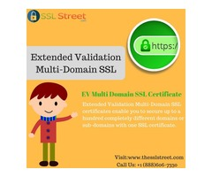 Comodo EV Multi Domain SSL Certificate At Best Price With Multidomain Security