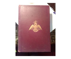 Morals and dogma aincient and accepted rite   1914 rare hardbound in very good condition by albert p