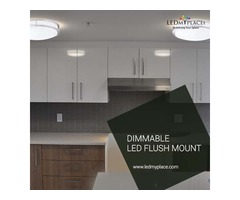 Best Dimmable Led Flush Mounts For  Excellent Office Look Sale Now