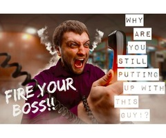 Fire Your Boss! Get Serious With Your Career and Earn 200k++ This Year!