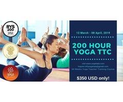 28 Days Yoga Teacher Training Course