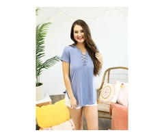 Cute Short Sleeve Tops for Women ( Sale 50% - Limited Time) at Southern Honey Boutique