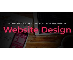 Affordable website design - keep your website actual and modern