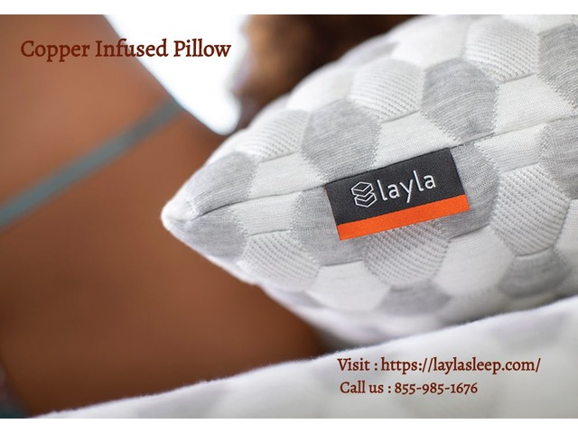 Layla Sleep | Copper Infused Pillow | free-classifieds-usa.com