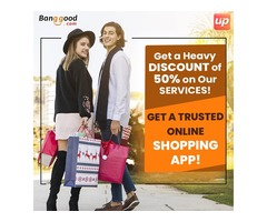 Get Shopping App on 50% Discount Today