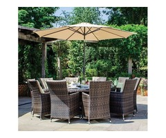 Rattan Dining Sets for a Lavish Setting