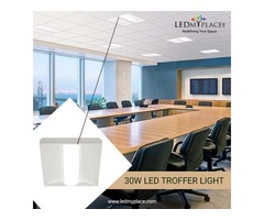 Purchase The Best 30W LED Troffer Lights for Commercial Use