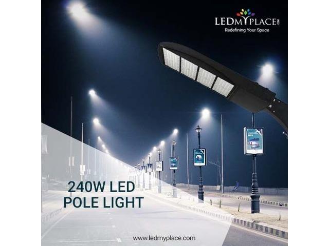 Ypou Buy The Best New 240W LED Pole Light On Sale   free-classifieds-usa.com