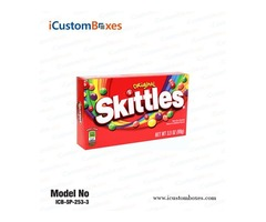 Get Custom Candy Boxes at Wholesale Price