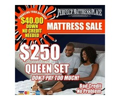 QUEEN SETS $250 MATTRESS AND BOX SPRING FREE DELIVERY