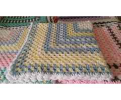 11 CROCHETED GRANNY SQUARE THROWS  | free-classifieds-usa.com