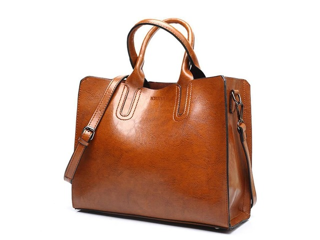 Thread Pattern Leather Handbags Big | free-classifieds-usa.com