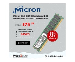 Get 35% Off Sitewide plus Save an extra 5% off throughout February on MICRON MEMORY