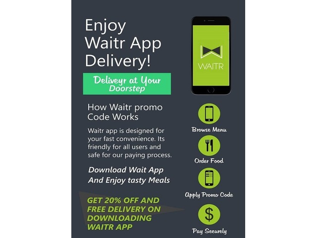 Waitr Promo Code - Catering Services - Albert - Kansas