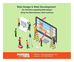 Best Website Design and Development Services by NarmadaTech