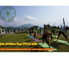 Join 100-Hour Yoga TTC in India