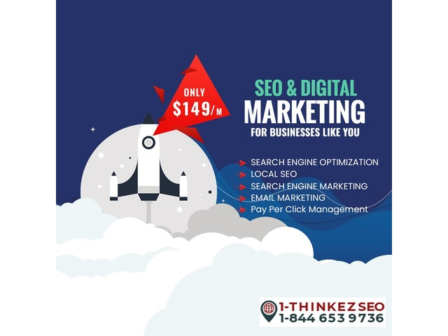 Digital Marketing Services In USA Basic Plan 149$/m- Thinkezseo | free-classifieds-usa.com