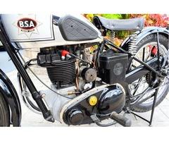 """1939 BSA B24 """"SILVER STAR"""" 350CC"""
