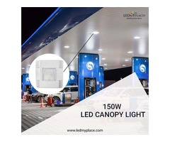 Increase Sales By Installing 150w LED Canopy Lights