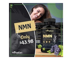 Buy NMN Supplement With Resveratrol - Anti Aging Supplement