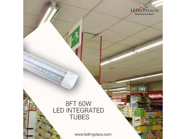 The Best New 8ft 60W LED Integrated Tubes On Sale | free-classifieds-usa.com