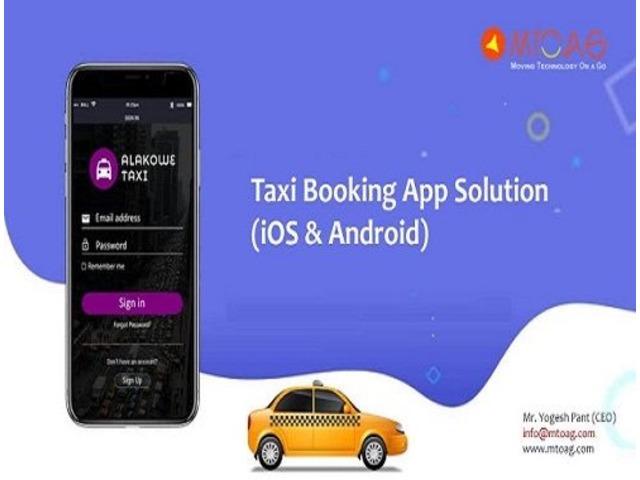 Taxi App Developer | Taxi App Solution | Mtoag - Development Service