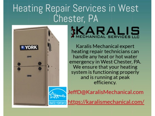 Title- Get Professional Heating Service at Karalis Mechanical Services | West Chester  | free-classifieds-usa.com