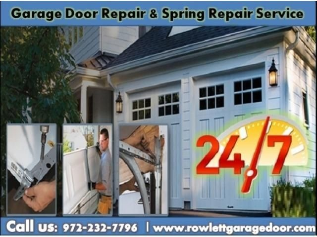 Quickly Response on New Garage Door Spring Repair ($25.95) Rockwall Dallas, 75087   free-classifieds-usa.com