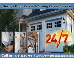 Quickly Response on New Garage Door Spring Repair ($25.95) Rockwall Dallas, 75087