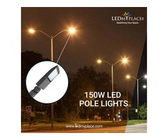 150w LED Pole Lights Come With Quick Installing Process - Sale