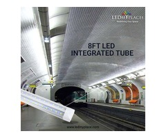 Use Best Quality 8ft LED Integrated Tubes For More Brightness