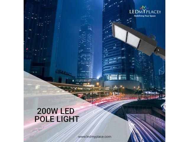 The Best New 200w LED Pole Light On Sale | free-classifieds-usa.com