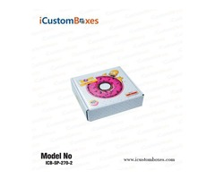 Get Custom Donut Boxes at Wholesale Price 30 % Discount