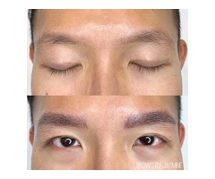 Male Eyebrow Microblading by Perfect Frame