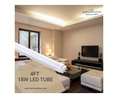 Install The Best 4ft 18W LED Tubes to Actually Make Installing Easy