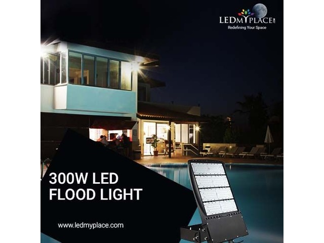 Install 300W LED Flood Lights At The Best Discount Prices | free-classifieds-usa.com