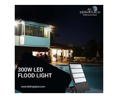 Install 300W LED Flood Lights At The Best Discount Prices