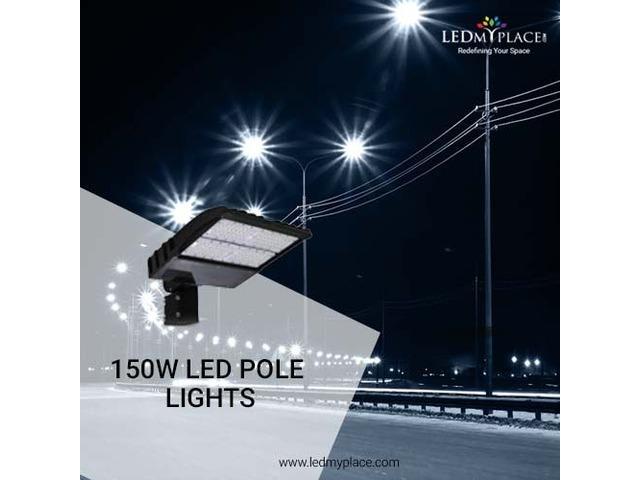 The Best New 150W LED pole lights On Sale | free-classifieds-usa.com