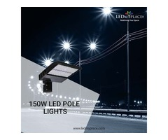 The Best New 150W LED pole lights On Sale