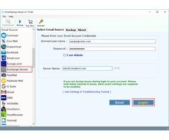 Exchange Server Backup Tool