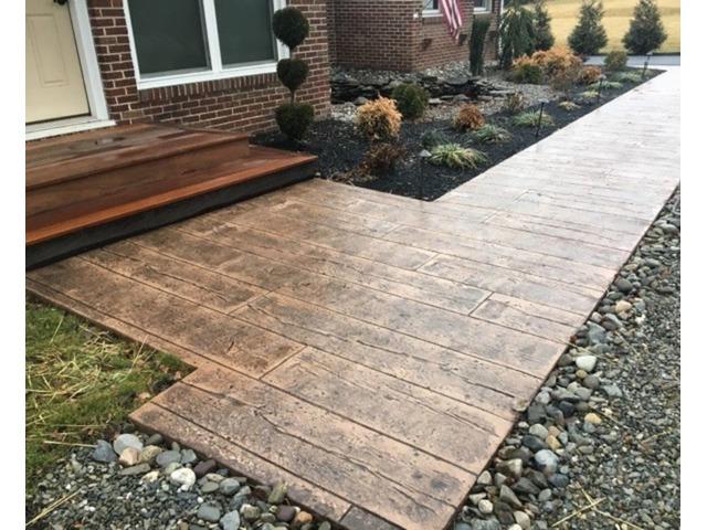 Stamped Concrete Design By Professional Concrete Contractors | free-classifieds-usa.com