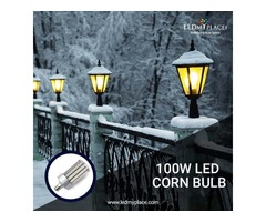 Stress-Free Life for At Least 6 Years by Installing 100w LED Corn Bulbs