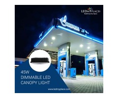 45w LED Canopy Light Attracting More Number of Customers